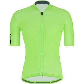 Santini Maglia Shortsleeve Jersey Men, fluo green